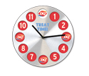 DQ(R) Bubble Clock